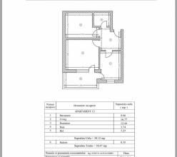 Apartament 2 camere, Rosu (Chiajna) - Uverturii
