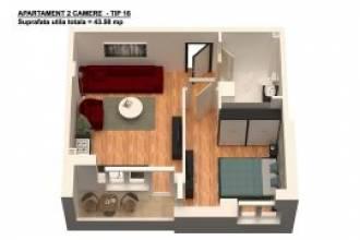 Apartament 2 camere, Bragadiru - Leroy Merlin
