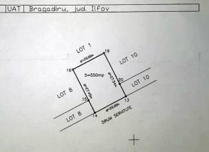 Teren pentru constructii - intravilan, Bragadiru - Ciresar / Alunului